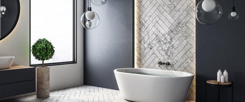 luxury bathroom remodel in Kansas City