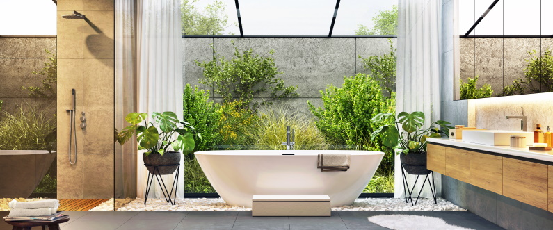 No Room Too Small: Finishing Touches for Your Bathroom Remodel